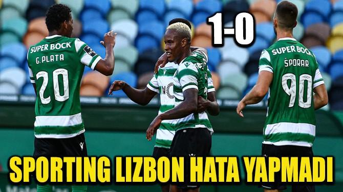 SPORTING LIZBON HATA YAPMADI!