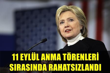 FENALAŞARAK HASTANEYE KALDIRILAN HILLARY CLINTON'UN SAĞLIK DURUMU NASIL? İLK AÇIKLAMA GELDİ!..