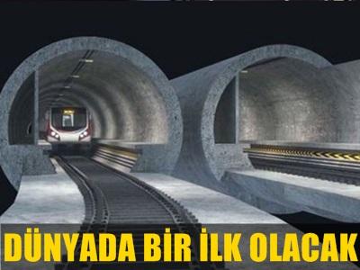 ULAŞTIRMA, DENİZCİLİK VE HABERLEŞME BAKANI MÜJDEYİ VERDİ, İSTANBUL'A 3 KATLI TÜNEL GELİYOR!..