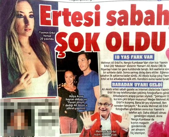 Yasmin Erbil ailesini şok etti