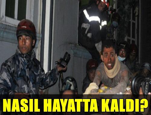 FLAŞ! NEPAL'DEN 82 SAAT SONRA GÜZEL HABER! GÖÇÜK ALTINDA 82 SAAT KALAN RISHI KHANAL NASIL HAYATTA KALDI?..