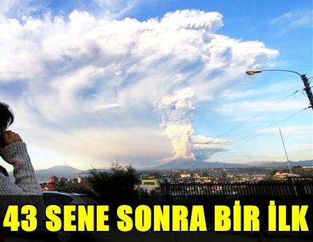 FLAŞ! ŞİLİ'DE KIRMIZI ALARM VERİLDİ, TAM TAMINA 1500 KİŞİ TAHLİYE EDİLDİ!..