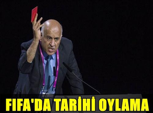 FIFA'DA TARİHİ OYLAMA! FİLİSTİN YAPILAN OYLAMA İLE RESMEN...