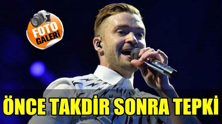 İSTANBUL'DA VERDİĞİ KONSERDE SOMA'YI ANARAK BÜYÜK TAKDİR TOPLAYAN JUSTIN TIMBERLAKE, PAYLAŞTIĞI FOTOĞRAFLA TEPKİ ALDI!