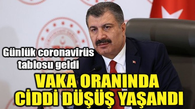 26 ARALIK CORONAVİRÜS TABLOSU AÇIKLANDI!..