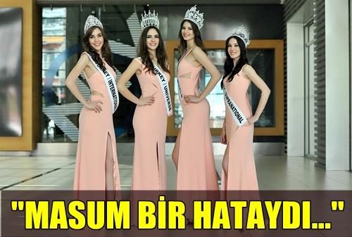 MISS TURKEY GÜZELLİK YARIŞMASINDA YAŞANAN SKANDAL İLE İLGİLİ İLK AÇIKLAMA GELDİ!..
