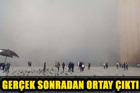 AKIL ALMAZ OLAY! MEYDANI GAZA BOĞDULAR!..