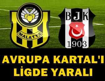 EVKUR YENİ MALATYASPOR - BEŞİKTAŞ MAÇI 0-0 SONA ERDİ!..
