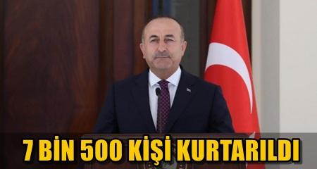 DIŞİŞLERİ BAKANI MEVLÜT ÇAVUŞOĞLU ÖNEMLİ AÇIKLAMALARDA BULUNDU!..