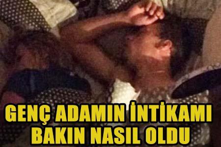 SEVGİLİSİNİ KENDİ YATAĞINDA BAŞKA BİR ADAMLA YAKALADI!..