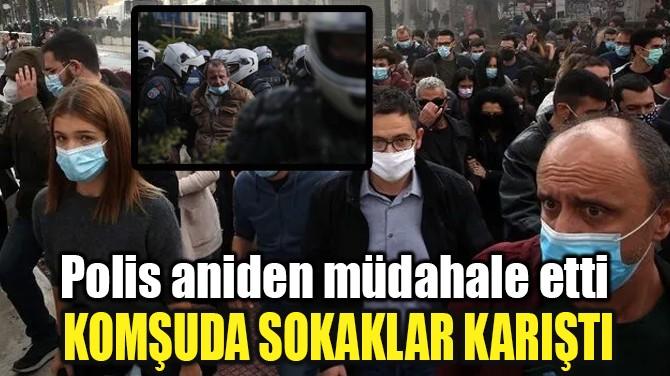 YUNANİSTAN'DA '17 KASIM' PROTESTOLARINA POLİS MÜDAHALESİ