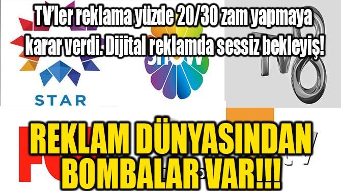 REKLAM DÜNYASINDAN BOMBALAR VAR!!!