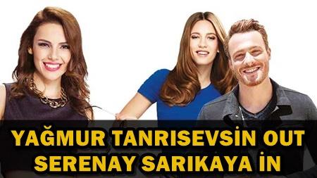 SERENAY SARIKAYA 'BÜRSİN' AİLESİNİN YAKIN TAKİBİNDE!