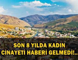 İŞTE TÜRKİYE'DE KADIN CİNAYETİNİN İŞLENMEDİĞİ TEK ŞEHİR!..