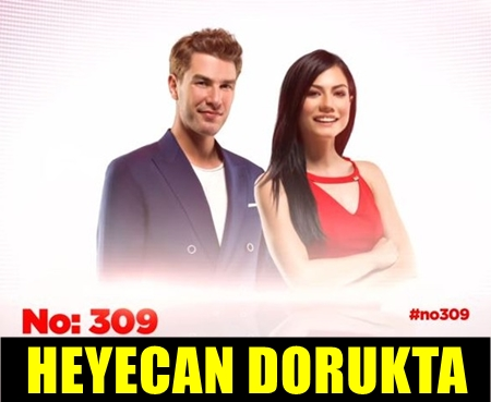 """BAŞROLLERİNİ DEMET ÖZDEMİR VE FURKAN PALALI'NIN PAYLAŞTIĞI YENİ DİZİ """"NO: 309"""" BUGÜN BAŞLIYOR!.."""