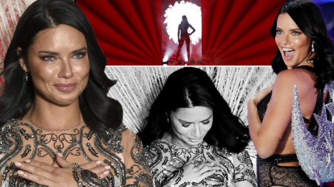 ADRIANA LIMA SON KEZ VICTORIA'S  SECRET FASHION SHOW'A ÇIKTI!
