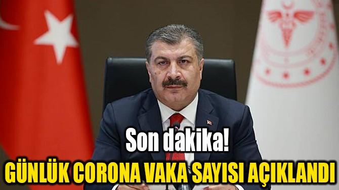 12 ARALIK CORONAVİRÜS TABLOSU AÇIKLANDI!..