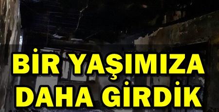 TADİLAT SESİNE KIZDI EVİNİ ATEŞE VERDİ!