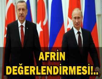 CUMHURBAŞKANI ERDOĞAN, RUSYA DEVLET BAŞKANI PUTİN İLE GÖRÜŞTÜ!..