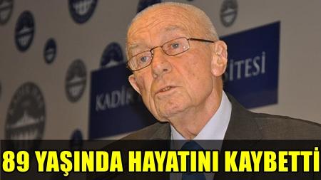 ÜNLÜ İŞADAMI İSHAK ALATON VEFAT ETTİ!..