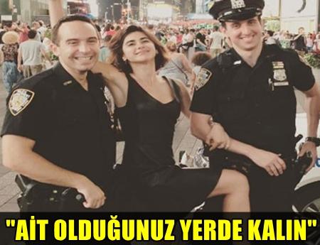 AMERİKA'DAKİ POLİS MEMURLARIYLA ÇEKTİRDİĞİ FOTOĞRAFI ELEŞTİRİ ALAN, ÜNLÜ OYUNCUDAN SERT YANIT!..