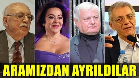 2016 YILININ İLK YARISI, SANAT DÜNYASINDAN ÇOK DEĞERLİ İSİMLERİN ACI HABERLERİYLE GEÇTİ!..