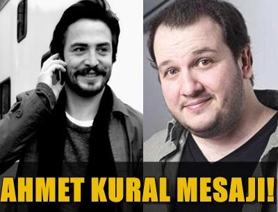 AHMET KURAL, ŞAHAN GÖKBAKAR'DAN ÖZÜR DİLEDİ!..