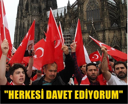 ALMANYA'DA 'DARBEYE KARŞI DEMOKRASİ MİTİNGİ' DÜZENLENECEK!.. İŞTE DETAYLAR!..