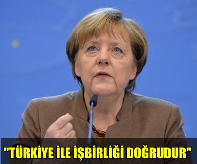 """ANGELA MERKEL: """"TÜRKİYE OLMADAN BU MÜCADELEYİ KAZANAMAYIZ!.."""""""