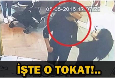 EYLEM TORAMAN'A ATILAN TOKATIN GÖRÜNTÜLERİ ORTAYA ÇIKTI!..
