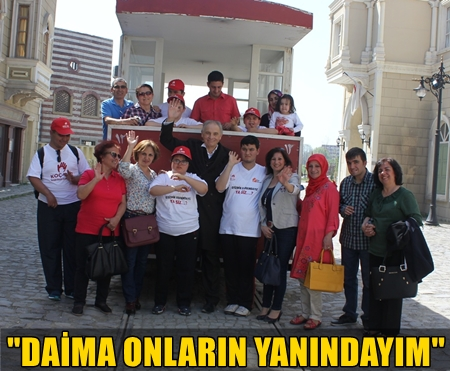 """TRT'NİN SEVİLEN DİZİSİ """"FİLİNTA""""NIN SETİNE ANLAMLI ZİYARET!.."""