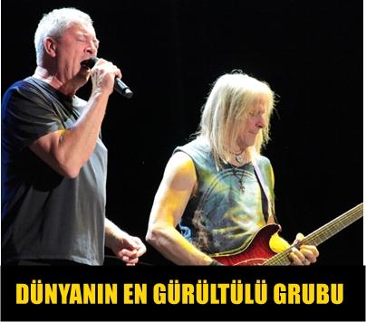 MODERN ROCK YARATICILARINDAN EFSANEVİ GRUP DEEP PURPLE HAYRANLARINA UNUTULMAZ BİR MÜZİK ZİYAFETİ YAŞATTI!..