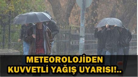 KUVVETLİ RÜZGAR VE FIRTINA GELİYOR!..