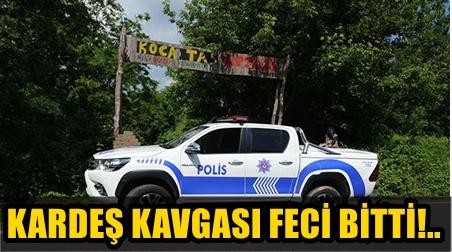 SARIYER'DE ÇİFTLİKTE AĞABEY KARDEŞ KAVGASININ KANLI SONU!..