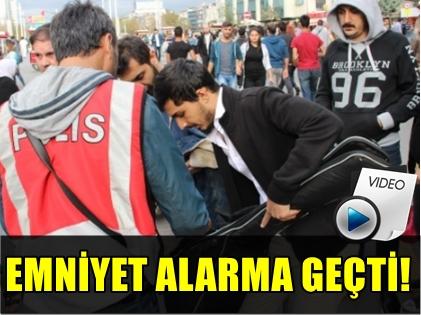 SON DAKİKA! PATLAMANIN ARDINDAN İSTİKLAL CADDESİ'NDE ARAMA!..