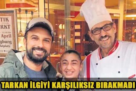 MEGASTAR TARKAN'DAN DUDAK UÇUKLATAN BAHŞİŞ!..