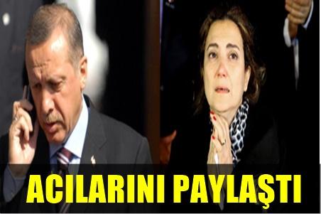 ERDOĞAN'DAN HALİT AKÇATEPE'NİN AİLESİNE TAZİYE TELEFONU!