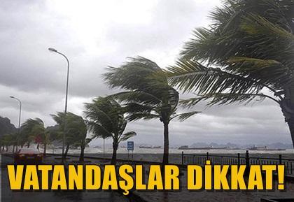 METEOROLOJİDEN ŞİDDETLİ LODOS UYARISI! AYRINTILAR HABERDE!..