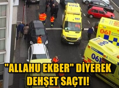 İSPANYA'DA SÜPERMARKETE SİLAHLI SALDIRI!