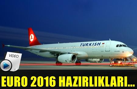 THY'DAN MİLLİ TAKIMIZA BÜYÜK JEST! MİLLİ TAKIMIN EURO 2016'YA GİDECEĞİ UÇAĞI SÜSLEDİ!..