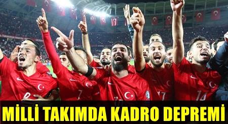 SON DAKİKA! MİLLİ TAKIMIN EURO 2016 KADROSU RESMEN AÇIKLADI! KADRODA 8 ÖNEMLİ İSİME BÜYÜK ŞOK!..