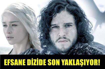 İDDİALARI DOĞRULADI! EFSANE DİZİ GAME OF THRONES'DA SONA YAKLAŞILIYOR!..