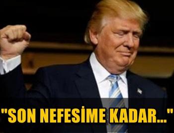 DONALD TRUMP YEMİN EDEREK BAŞKAN OLDU!