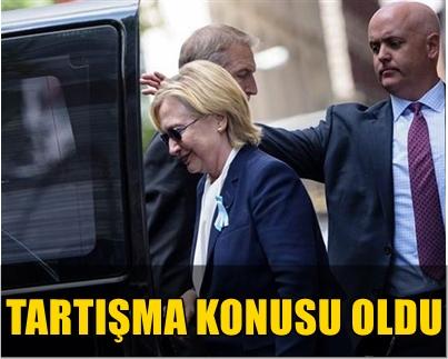 DÜN AKŞAM FENALAŞARAK HASTANEYE KALDIRILAN HILLARY CLINTON'A ZATÜRRE TEŞHİSİ KONULDU!..