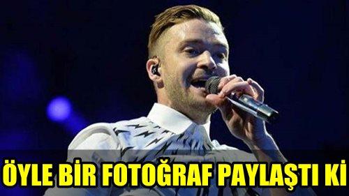 POP YILDIZI JUSTİN TİMBERLAKE'NİN SOSYAL MEDYADA PAYLAŞTIĞI FOTOĞRAF BÜYÜK TEPKİ ÇEKTİ! İŞTE AYRINTILAR!