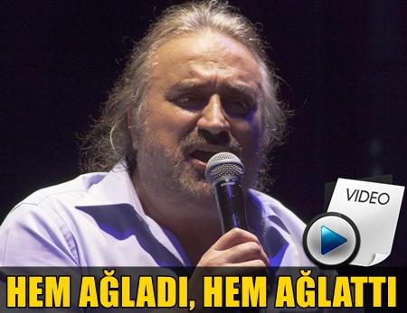 SEVİLEN SANATÇI VOLKAN KONAK VERDİĞİ MUHTEŞEM KONSERDE GÖZYAŞLARINA HAKİM OLAMADI!..