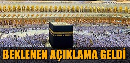 DİYANET İŞLERİ BAŞKANLIĞI  2017 YILI HAC ÜCRETLERİNİ AÇIKLADI!..
