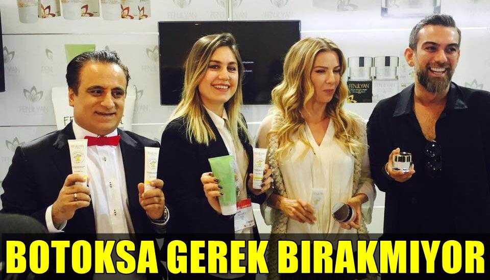 ULUSLARARASI EURASIA KOZMETİK FUARI'NA KATILAN IVANA SERT, BU KREMLE YAŞLILIĞA SAVAŞ AÇTI!..