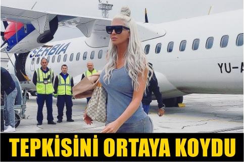 BEŞİKTAŞ'LI FUTBOLCU DUSCO TOSIC'İN EŞİ JELENA KARLEUSA, ESTETİK İDDİALARINA ATEŞ PÜSKÜRDÜ!..
