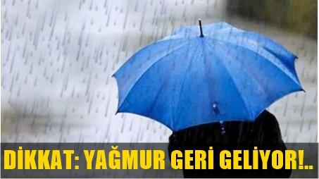 METEOROLOJİ'DEN 33 İL İÇİN ŞİDDETLİ YAĞMUR UYARISI!..